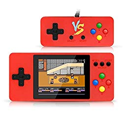 "in budget affordable Erlking handheld game console, retro mini player with 500 classic games, 3 ""…"