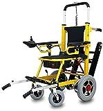 GLJY Mobilitätsroller 350 lbs-Power Rollstuhl-Treppenlift- Elektrisch klappbar Mobilitätshilfe-Kann als Hebevorrichtung, Trage Sein