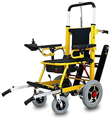 FanYu Mobilitätsroller 350 lbs-Power Rollstuhl-Treppenlift- Elektrisch klappbar Mobilitätshilfe-Kann als Hebevorrichtung, Trage Sein