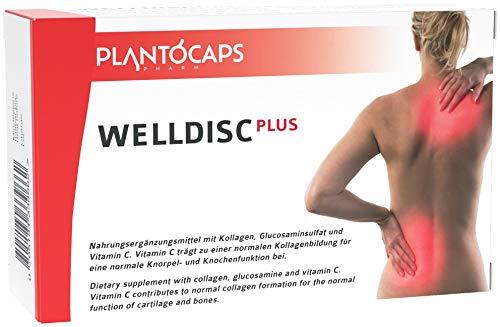 plantoCAPS® WELLDISC PLUS | Cápsulas para discos intervertebrales | para su espalda | dolor lumbar | dolor de espalda | hernia discal| terapia para la espalda