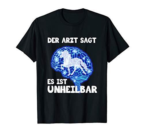 Islandpferd Isländer Island Pony Der Arzt sagt Shirt