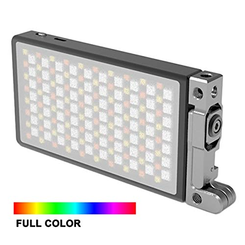 remote control Peaceip US Camera video fill light dimmable LED light two-color variable temperature 3200k-5600K one-button operation with 1//4 interface