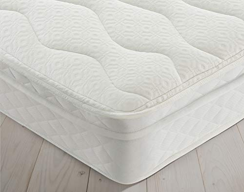 Silentnight Miracoil Cushion Top Mattress | Medium Firm | Single