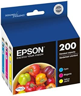 Epson ink 200 C/Y/M Cyan Magenta Yellow - Genuine - Bulk