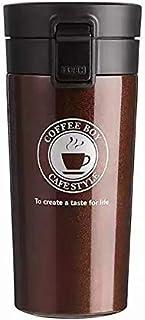 Thermal Mug - Dark Brown - Stainless Steel