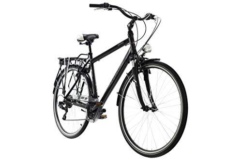 KS Cycling Trekkingrad Herren 28'' Santiago schwarz RH 53 cm