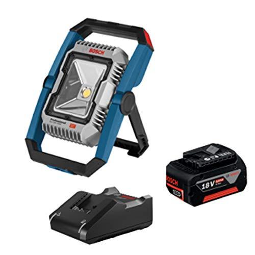 ボッシュ(BOSCH) 14V・18V コードレス投光器 (18V 5.0Ahバッテリー1個、充電器付き) GLI18V-1900