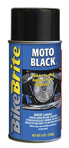 Bike Brite MC53000 Black Powder Coated Engine and Wheel Cleaner, 9 fl. oz.