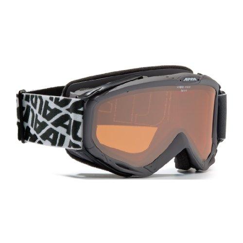 Ersatzscheibe für Skibrille Alpina SPICE HM, Scheibe:HYBRID-Spiegel schwarz