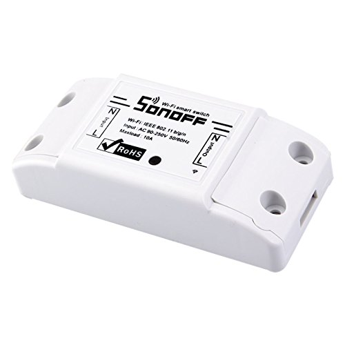 SODIAL Interruptor Wifi inteligente Interruptor de temporizador de pared Controlador remoto de telefono inteligente