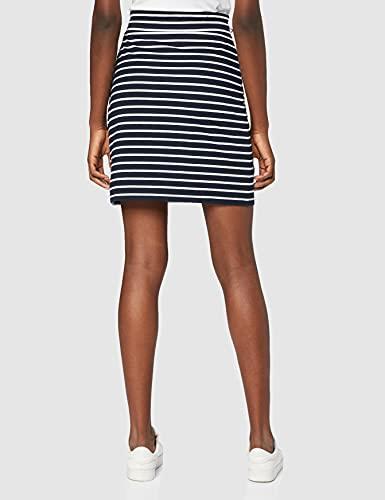 edc by Esprit 069cc1d011 Falda, Multicolor (Navy 400), X-Small para Mujer