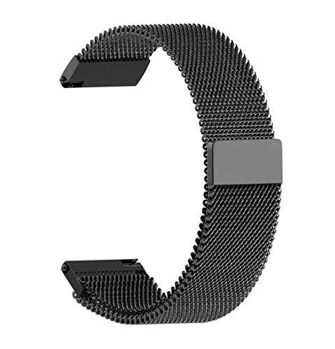 Pulseira extra para Samsung Gear S3/ Galaxy Watch 46mm (Aço Preta)