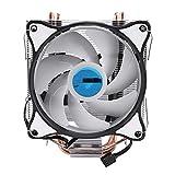 yiping T400 CPU Refrigerador de 4 Pines 4 Tubo de Cobre 12 cm...