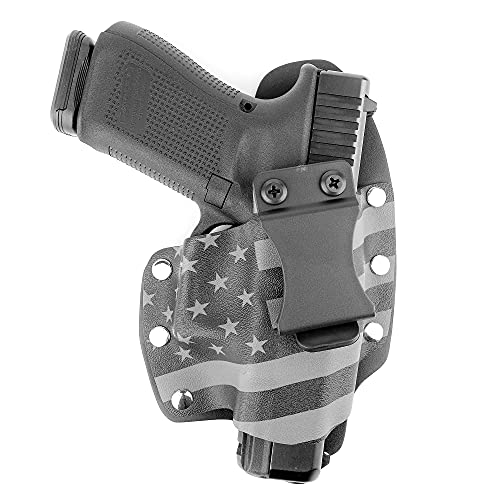 Gunmetal Gray USA IWB Hybrid Concealed Carry Holster (Right-Hand, for Canik TP9SF Elite)