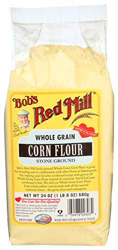 Bob's Red Mill Yellow Corn Flour, 24-ounce