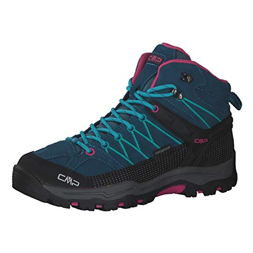 CMP Kinder Trekking Schuhe Rigel MID 3Q12944J Deep Lake-Baltic 38