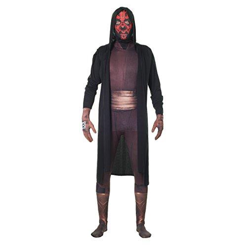 Offiziell Darth Maul Digital Morphsuit Verkleidung, Kostüm - Large - 5'5-5'9 (163cm-175cm)