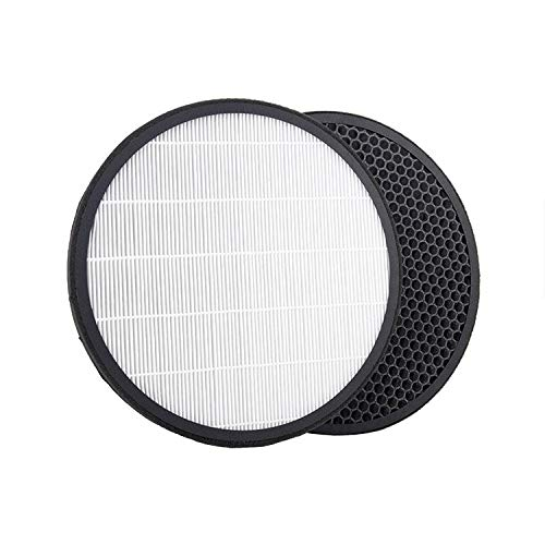 NIHAOA Filtro humidificador For LG PS-329CG / PS-329CS, purificador de Aire HEPA reemplazo + Filtro de carbón Activado Elemento