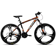 The Hiland mountain bike is ideal for everyday rides to school,work or a cross country ride. With a wheel size of 26 inches,frame size 17 inches, it is suitable for boys over approx. 5'1'' in height, but also for men. The model is a real eye-catcher,...