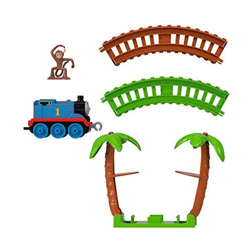 Il Trenino Thomas- Playset Avventura nella Giungla, con Locomotiva Thomas e Accessori Giocattolo per Bambini 3+Anni, GJX83