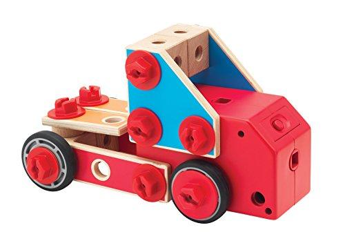 itsImagical - Multi Model Motion 52 Pcs, Juego de construcción con Piezas de Madera (Imaginarium 81231)