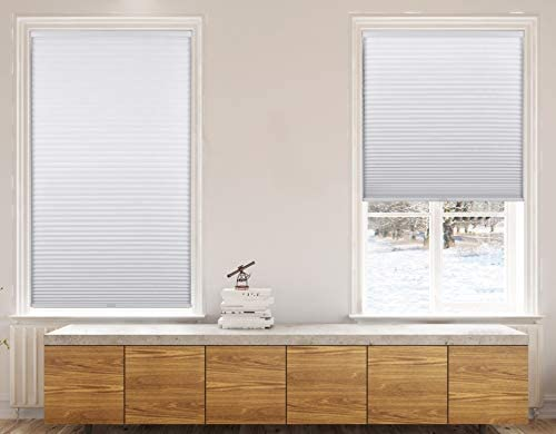 Calyx Interiors A04HCA240600 Cordless 9 16 Inch Cellular Honeycomb Shades 24 Inch Width by 60 product image
