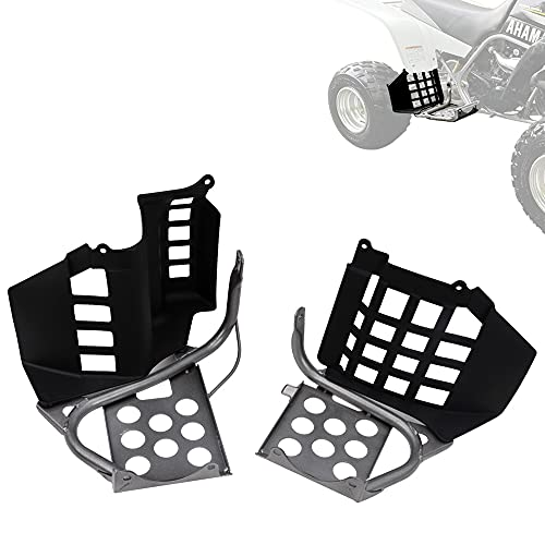 ELITEWILL Heel Guards Footrest Stand Nerf bars Compatible with Yamaha Banshee YFZ350 1990-2006 (L&R)