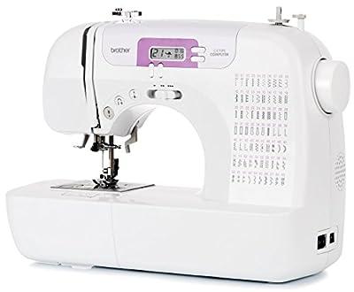 Brother CX70PE (Patchwork Edition) - Máquina de coser electrónica con 70 puntadas de costura (útiles, elásticas, decorativas), costura automática, pantalla multifunción de Brother