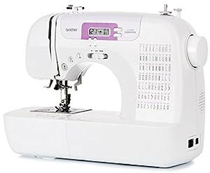 Brother CX70PE (Patchwork Edition) - Elektronische Nähmaschine mit 70 Nähstichen (Nutz- Elastisch- und Dekorativstiche), automatisches Nähen, Multifunktionsdisplay