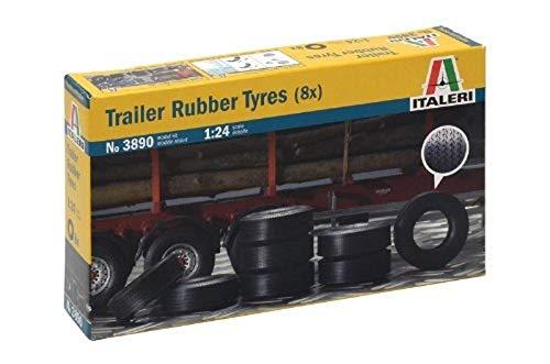 Italeri I3890 510003890 – släpvagnsdäck, 8 stycken