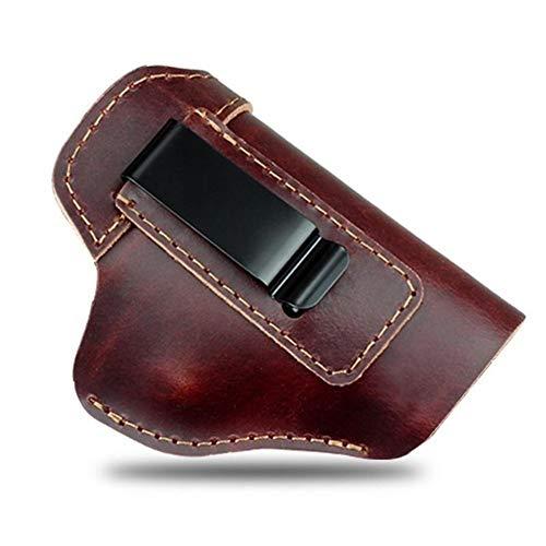 NO LOGO X-Baofu, Funda de Cuero Oculta Funda de Pistola for Sig Sauer P226 SP2022 P229 P250 Glock 17 19 43 Beretta 92 Accesorio de Funda (Color : B)