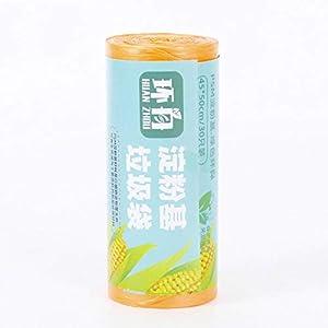 JXX Bolsa de Basura Bolsa de Almacenamiento degradable-30 Piezas Naranja