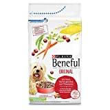 PURINA BENEFUL Original Dry Dog Food with Beef and Garden Vegetables, Pack...