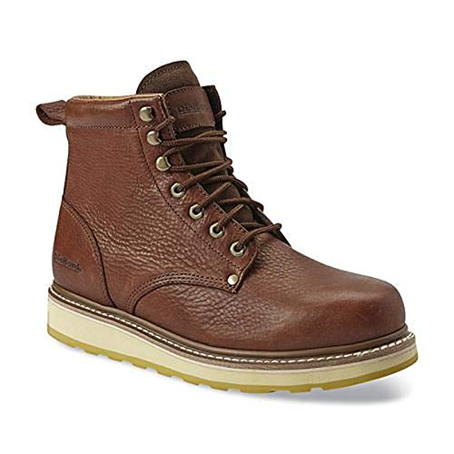 "DieHard Men's Work Boots Soft Toe comfortable 6"" Boots Brown 84984 (Brown, numeric_8)"