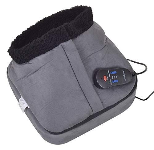HealthSense LM305 Multi-Touch Shiatsu Foot & Body Massager With Heat, Remote Control.