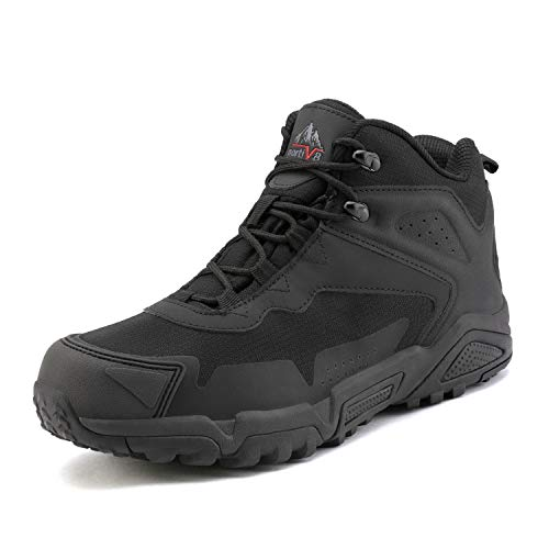 NORTIV 8 Men's Waterproof Hiking Boots Lightweight Mid Trekking Shoes