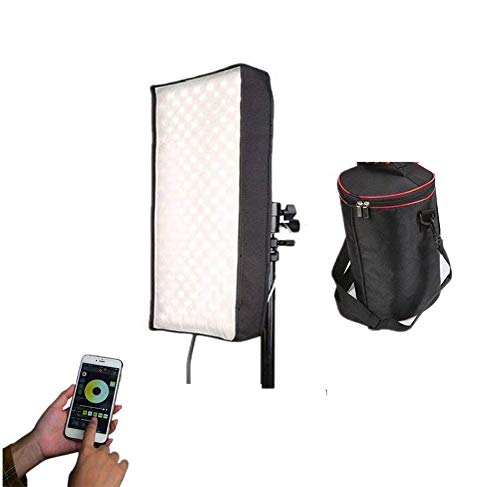 Menik CB-102A 102W 510PCS Led Studio Flexible Licht CRI95 3200-5600K Bi-Color LED Video Licht für Video Shooting Porträtfotografie Fill-in Licht(CB-102A)