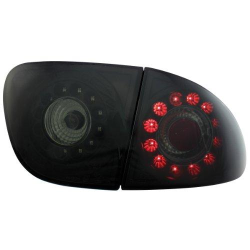 Dectane RSI02LLBS LED Rückleuchten Seat Leon Baujahr 99-05 schwarz/rauch