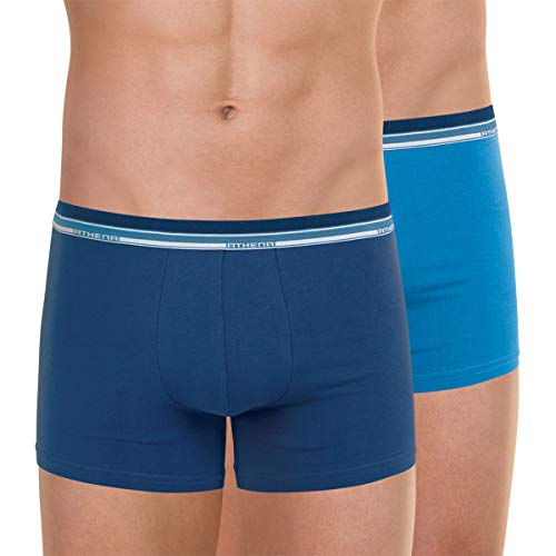 ATHENA Herren Boxershorts Duo Eco Gr. Small, blau