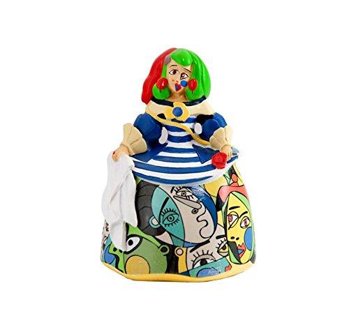 DRW Figura menina Resina 9 cm (Picasso)