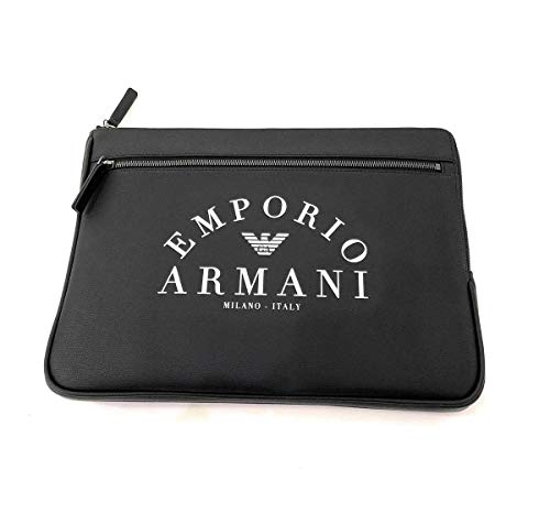 Emporio Armani borsa a mano uomo black