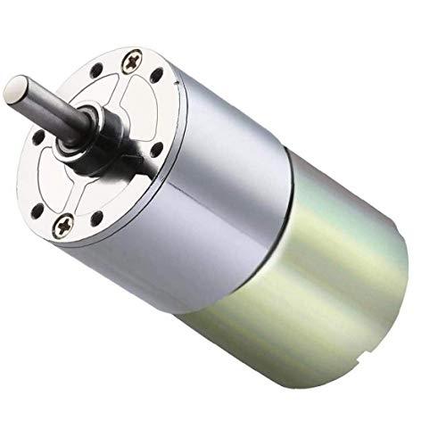 Xd-37gb520 Motor de CC Motor de desaceleración de CC Motor de velocidad lenta Velocidad de marcha atrás Accesorios de máquina herramienta de taladro eléctrico de CC de baja velocidad 12 / 24(