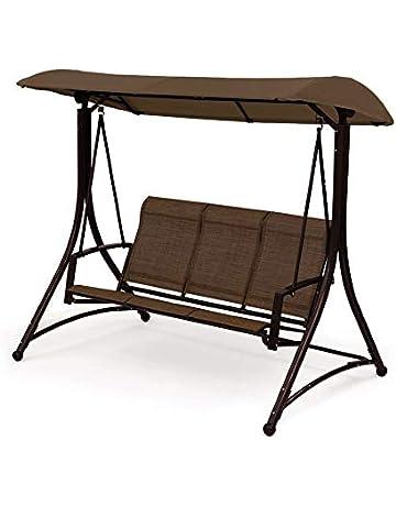 hELIuZW Wooden Tree Swing Chair Wooden Hanging Swings Seat for Children Adults