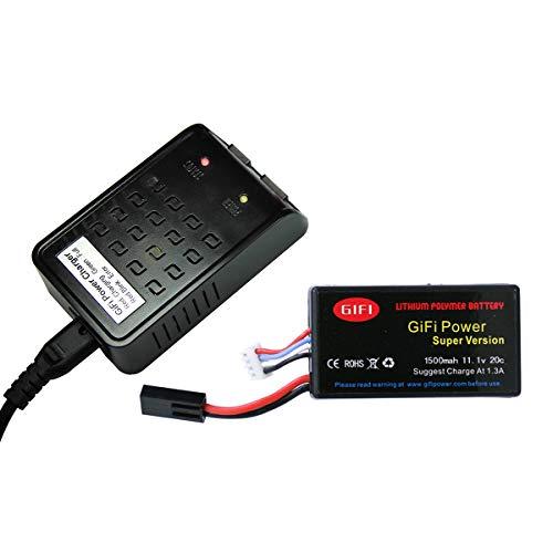 MaximalPower 1500mAh High Capacity Battery & Charger for Parrot AR.Drone 2.0 & 1.0 (Charger + 1 Batt) (Charger + 1 Batt)