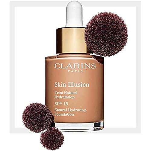 Clarins Skin Illusion SPF 15 Serum-Foundation, 112 Amber, 30 ml