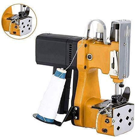 Sooiy Máquina de Coser portátil Máquina de Coser más cercana Bolsa de Embalaje eléctrica Sellado de Costura para Bolsa de plástico de Papel de arroz Saco de Piel de Serpiente Máquinas de Coser