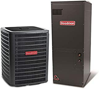 Goodman 2 Ton 15 Seer Heat Pump System with Multi Position Air Handler
