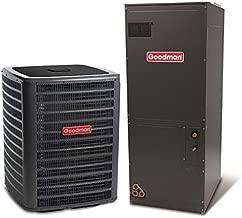 Goodman 2 Ton 15 Seer Heat Pump System with Multi Position Air Handler