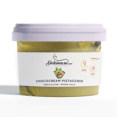 Crema al Pistacchio spalmabile o per farcire 500gr Senza Glutine Alta Qualità Pasticcera