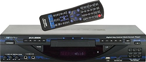 VocoPro Multi-Format Digital Key Control DVD/DivX Player with USB, SD and HDMI, DVX-890K (DVX890K)